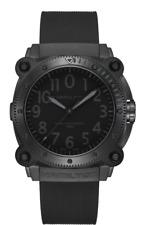 New Hamilton Khaki Navy Belowzero Titanium Auto Black Dial Men's Watch H78505330
