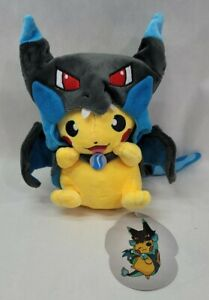 "Cosplay Plush Charizard Pikachu 9"" Stuffed Toy Cartoon Soft Brand New Pokemon"