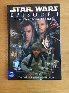 Star Wars Phantom Menace Official 2000 Annual