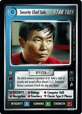 Star Trek CCG MM Mirror Mirror Security Chief Sulu 85R