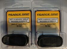 Lot of 2 - Pearce Grip S&W M&P Shield & 2.0 PLUS PG-MPS+ 9mm +2rds & 40S&W +1rd