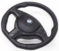 Aplati Volant en Cuir BMW E39 e46 M Avec Couverture Multifunk. Et Airbag A