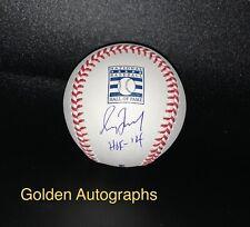 Greg Maddux Autographed HOF 14 Inscription Official MLB HOF Baseball Beckett