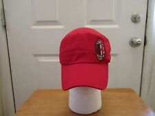 BRAND NEW AC MILAN FOOTBALL SOCCER CLUB CADET STYLE HAT. ONE SIZE FITS ALL