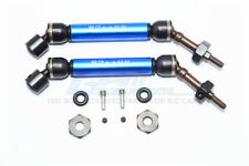 Traxxas Slash 4X4 Upgrade Parts Steel+Aluminum Rear CVD Drive Shaft - Blue