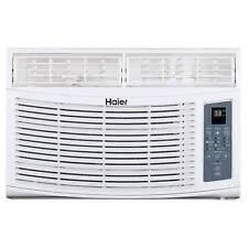 haier esaq406p serenity series 6050 btu 115v window air conditioner with led remote control. haier 8 000 btu electronic window air conditioner ac unit with remote | hwr08xcr esaq406p serenity series 6050 btu 115v led control