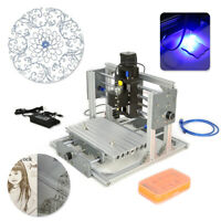 2417 Desktop Mini Engraving Machine Milling Engraver CNC Router PCB Metal DIY
