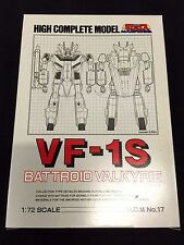 Macross VF-1S HCM High Complete Model Valkyrie 1/72 Bandai New Robotech Veritech