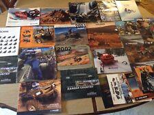 New listing Large lot Polaris Snowmobiles & Atv's Brochures Catalogs