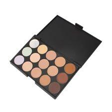 15 colores de maquillaje crema contorno rostro corrector paleta + esponja