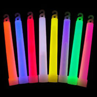 "GLOW STICK 6""  £1.00 per stick.(With Lanyard)"