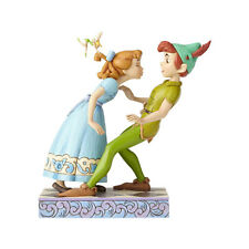 Disney Traditions Jim Shore Peter Pan & Wendy with Tinker Bell 65th Figurine