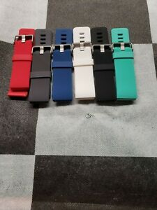 Fitbit Blaze Wristband Multipack (Black, Green, Red, Grey, Blue, White) SMALL