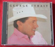 George Strait, blue clear sky, CD