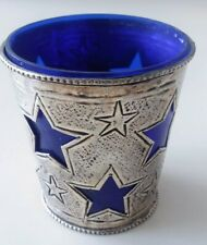 SHOOTING STAR Metal Pewter Holder For Chime Candles CELESTIAL STARRY NIGHT SKY