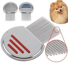 Stainless Steel Lice Nit Pet Comb Get Down To Nitty Gritty Metal Head And Teeth