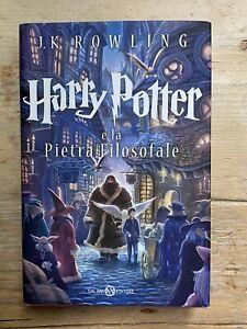 Rowling HARRY POTTER E LA PIETRA FILOSOFALE Salani Edizione CASTELLO 2013