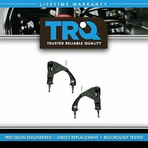 TRQ Rear Upper Control Arm & Ball Joint Pair Set of 2 for 97-01 Honda Prelude