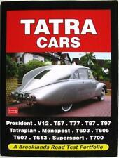 Bildband Test Portfolio Tatra V12 T57 T77 T87 T97 Tatraplan T603 T605 T607 T613