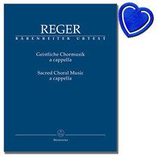 Geistliche Chormusik a cappella - Max Reger - BA7549 - 9790006561070