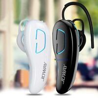 Bluetooth Wireless Hands-free Headset Stereo Earphone Mic For iPhone Samsung MT