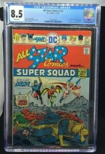 DC ALL-STAR COMICS - 58 1-2/76 - 8.5 1ST APP. POWER GIRL 1ST ISSUE SINCE 2-3/51