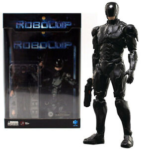 """Hiya Robocop Black 4"""" Action Figure 1:18 Scale Mini Series Official IN Stock"""