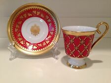 Hochst Peter The Great Red Cup/Saucer