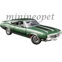 ACME A1805612 1970 OLDSMOBILE 442 W-30 1/18 DIECAST MODEL CAR GREEN