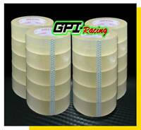 36 ROLL CLEAR CARTON SEALING PACKING SHIPPING TAPE 48MM x 75 M ( 246ft )