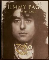 GENESIS PUBLICATIONS JIMMY PAGE HAND STAMPED BOOK LOS ANGELES 11/11/14 LED ZEP