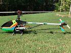 RC Helicopter Hirobo Shuttle ZX  RTF Custom Paint JR Radio, Many new spare parts