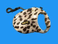 Hundeleine, Gurtleine, Rollleine, bis 50 Kg, Länge 5m Dalmatinerdesign