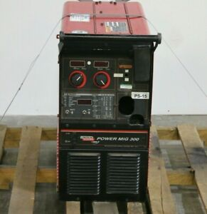 Lincoln Electric Power Mig 300 Welder - 17810
