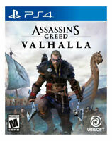 Assassin's Creed Valhalla PlayStation 4 factory sealed , Free Shipping