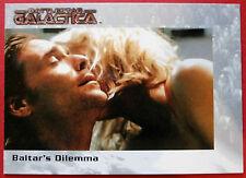 BATTLESTAR GALACTICA - Premiere Edition - Card #55 - Baltar's Dilemna