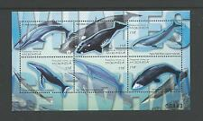 2001 Whales  Sheetlet  No 00483  complete MUH Value here