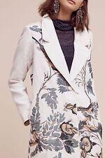 Anthropologie  Embroidered Foliage Coat by Hemant & Nandita SZ:M $398 NWT