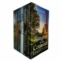 RebeccaTope 6 Books Collection Set (Cotswold Mysteries) Blood,Fear,Death New