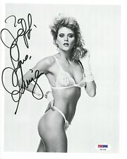 Ginger Lynn Signed Authentic Autographed 8x10 Photo (PSA/DNA) #V31765