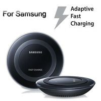 Genuine Fast Qi Wireless Charger Pad Charging For Samsung Galaxy S7 Edge /NOTE 7