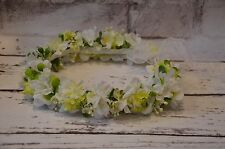 flower crown flower head wreath First Holy Communion wreath wianek komunijny 31N