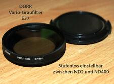 62mm Fader ND variable 62 MM filtro gris nd2-nd400 slim /& objetivamente tapa