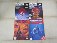Science Fiction magazine lot (4), Twilight Zone & Science Fiction Chronicle!