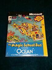 Microsoft Scholastic's The Magic School Bus Explores the Ocean CD-ROM 1996 new