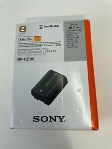Genuine Sony NP-FZ100 Rechargeable Lithium-Ion Battery for a9 a7Riii a7iii a7Riv