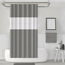 Bathroom Shower Curtain Waterproof Mildew Mold Resistant Antibacterial 72 x 80