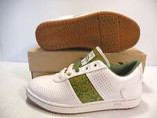 PONY SNOOP DOGG DOGGY BISCUITZ SNEAKERS MEN SHOES WHITE/GREEN SIZE 10 NEW