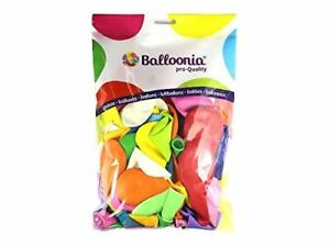 BALLOONIA–Balloons Balloon Hispanic estándar-pastel, Multicoloured (9550)