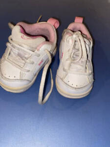 Nike Baby Girl Little Pico III Training Sneakers Size 2C Wide 327591-161 White